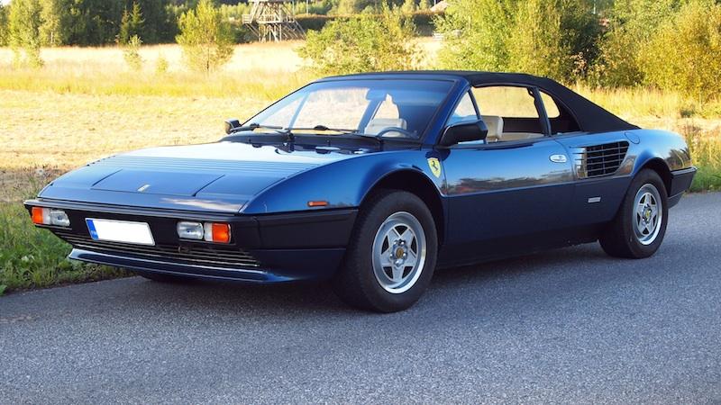 Ferrari Mondial Cabriolet Quattrovalvole 1985